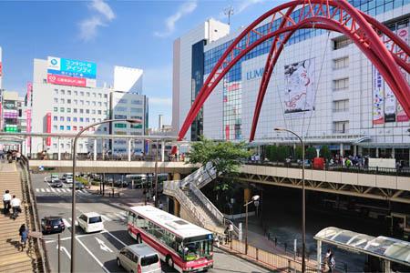 JR 中央線/青梅線/南武線「立川」駅